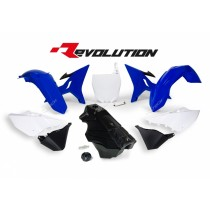 Kit Plastiche Revolution Rtech YZ 125-250 2002=>2020 Blu