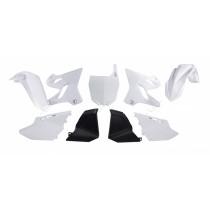 Kit Plastiche Restyling Yamaha YZ 125-250 2002=>2014 Bianco