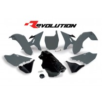 Kit Plastiche Revolution Rtech YZ 125-250 2002=>2020 Quantum Grey