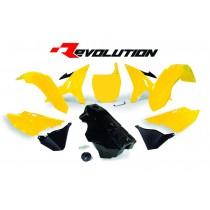 Kit Plastiche Revolution Rtech YZ 125-250 2002=>2020 Giallo Anniversario
