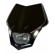 Mascherina Faro Anteriore Rtech V-Face LED Nero