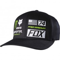 Cappellino Fox Monster Energy Flexfit Union Hat