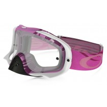 Maschera Oakley Crowbar Mx - Razorwire Pink/Rose OO7025-26