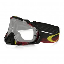 Maschera Oakley Mayhem Pro Mx Legacy Red Clear