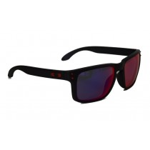 Occhiali Oakley Holbrook Matte Black / +Red Iridium oo9102-36 Sunglasses