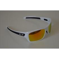 Occhiali Oakley Turbine White / Fire Iridium oo9263-04 Sunglasses