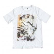 T-shirt DC Tiger White - Bianco