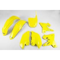 Kit Plastiche Ufo Restyling Yamaha YZ 125-250 2002=>2014 - Giallo
