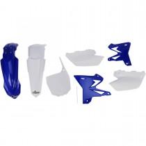Kit Plastiche Ufo Restyling Yamaha YZ 125-250 Originale Bianco