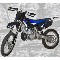 Kit Plastiche Ufo Restyling Yamaha YZ 125-250 2002/2014 - Nero